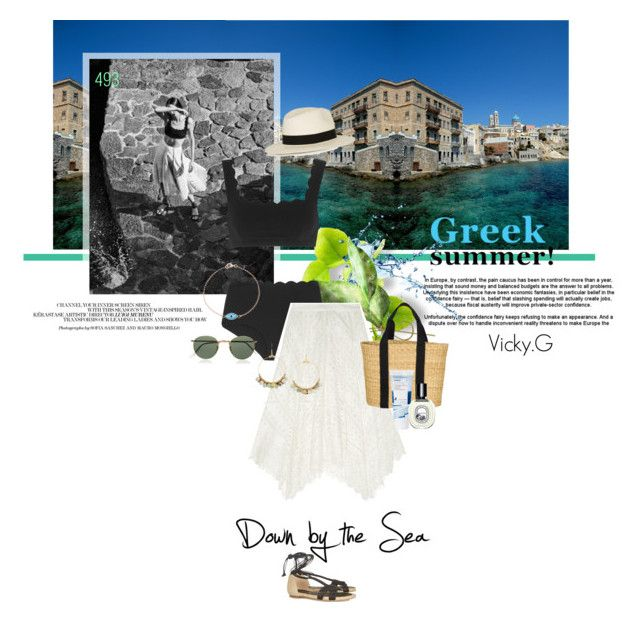 """Set # 493 / Syros, Cyclades , Greece"" by vassiliki-g on Polyvore"
