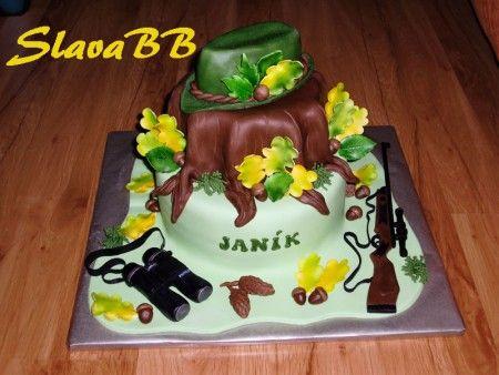 "Torta ""Pre poľovníka"" cesto: orechové plnka: čokoládová a vanilková váha: 5,4 kg"