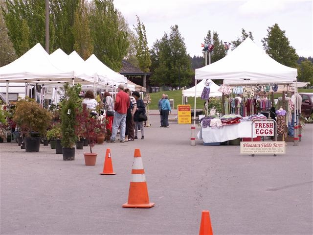 Silverdale Farmer's Market in Old Town, Tuesdays 10-4, April-September