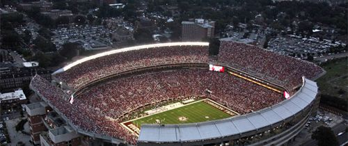 Alabama Crimson Tide Football home's Bryant Denny Stadium where the Tide plays, home of 15 National Championships. Score Alabama Football Tickets at SecSeats.com and Roll Tide!