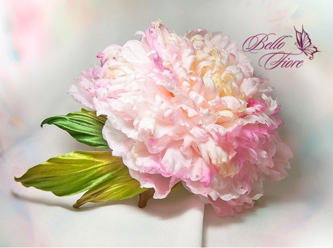 "Master class ""Peony Fairy Dream of Silk"""