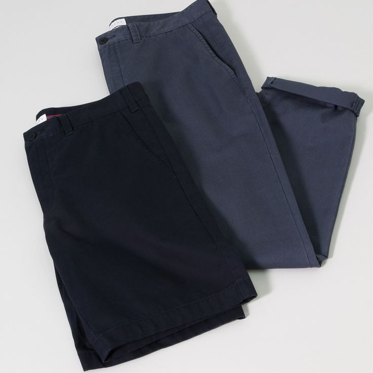 A chino should look good, but also reward you with seasons of wear. Our chino shorts and pants are designed in a durable, hard-wearing chino cloth that's created from a pure cotton double-yarn for extra strength and resilience.