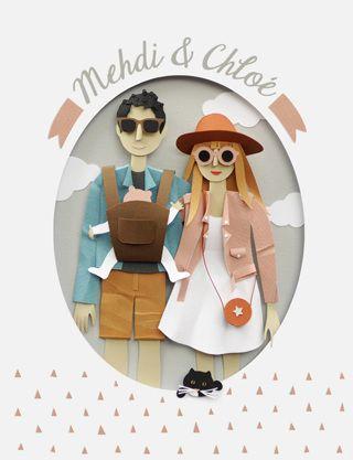 www.chloefleury.com possible DIY card! So gorgeous! http://obus.com.au/