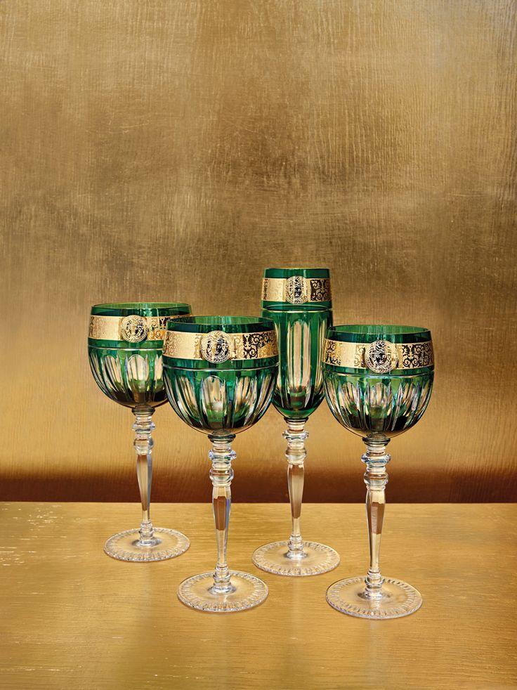 Stemware | Versace Home Available at Palazzo Collezioni Boutique Sydney…