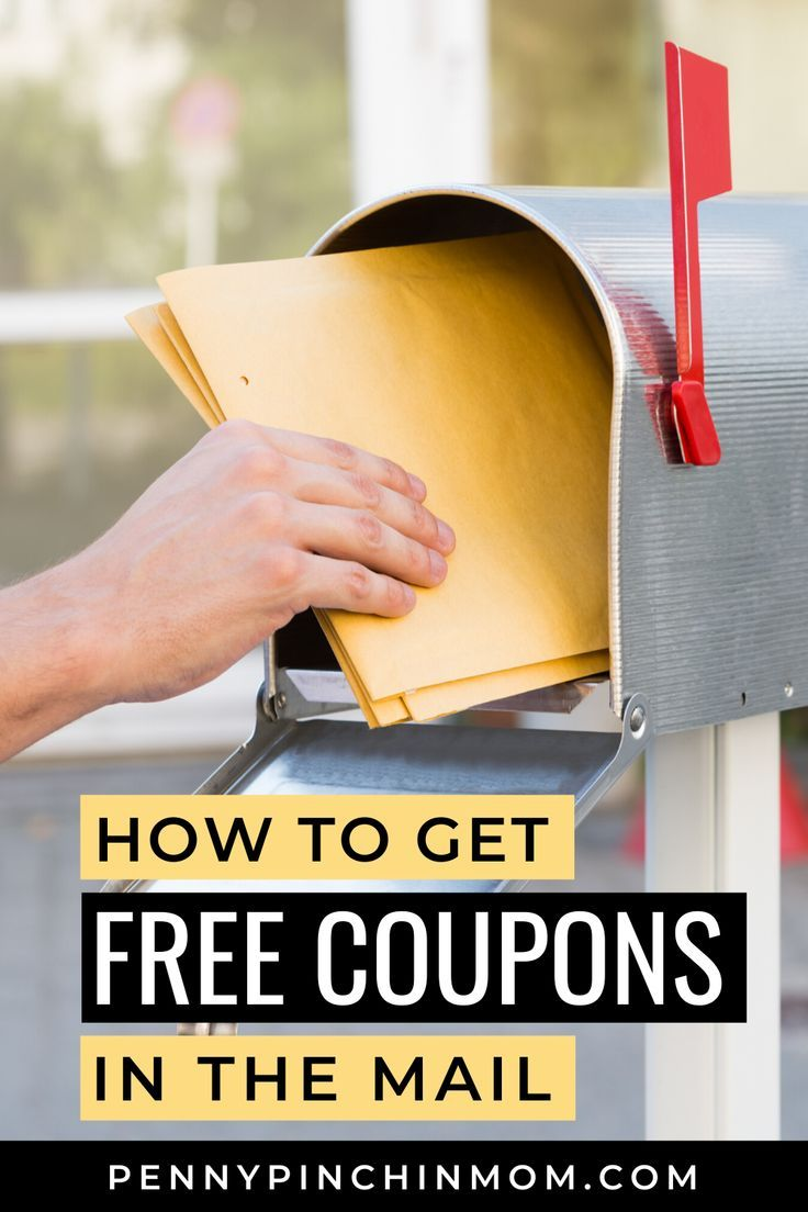 How To Get Coupons Mailed To You Coupons Grocery Budgeting Manufacturer Coupons