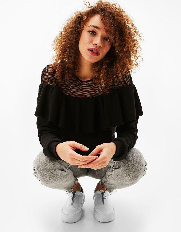 Sweatshirts - CLOTHES - WOMAN - Bershka Japan