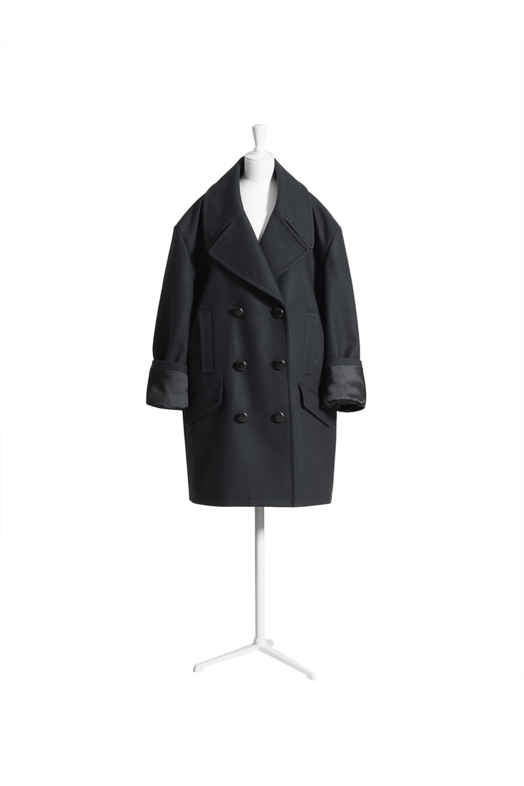 MMM x H - Ladies Nº7 - Oversized peacoat, £179.99