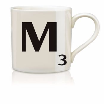 Scrabble Mug M: Scrabble mugs – collect the set for when you have 25 friends round for tea.