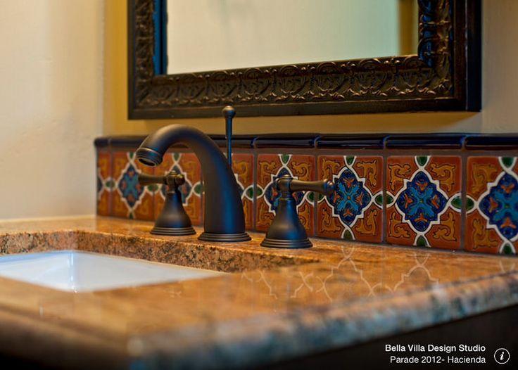 M s de 25 ideas incre bles sobre cocina de azulejos for Banos rusticos mexicanos