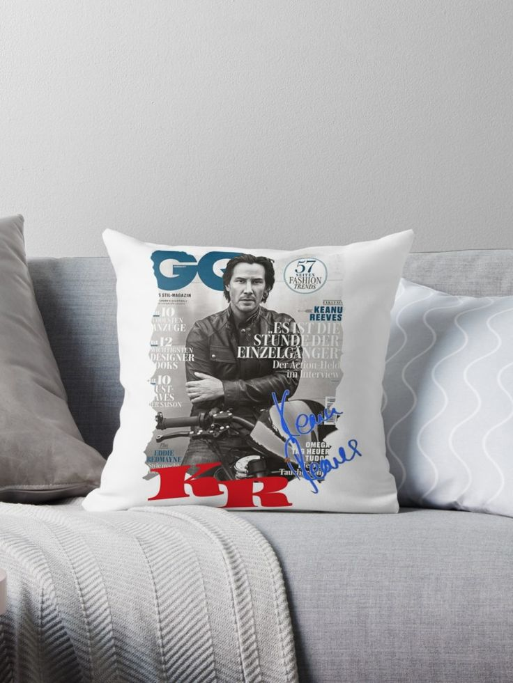Keanu Reeves GO Magazine (With His Signature) • Also buy this artwork on home decor, apparel, stickers, and more.