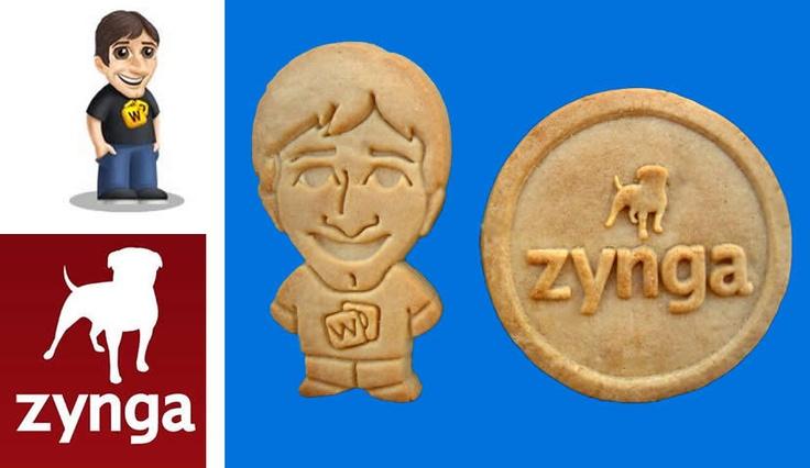 Corporate Logo Idea - Zynga Logo Cookie