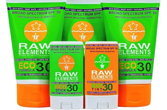 Raw Elements sunscreen and 9 more safe brands