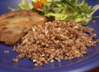 <3 Kasza gryczana z olejem lnianym i słonecznikiem (dieta wegańska)