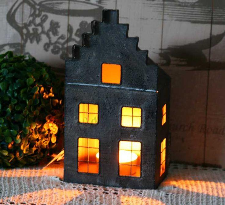 *LaMaison* Lampion Domek z oknami 1 Retro Vintage (4852522302) - Allegro.pl - Więcej niż aukcje.