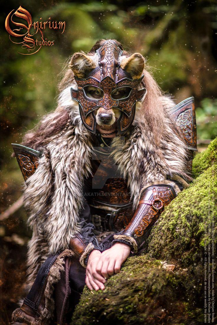 Photoshoot 2015 : Celtic Wolf warrior 3 by Deakath.deviantart.com on @DeviantArt