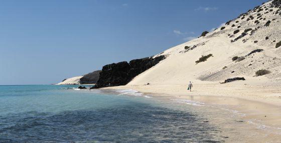 Con permiso de las mareas... playas cambiantes.