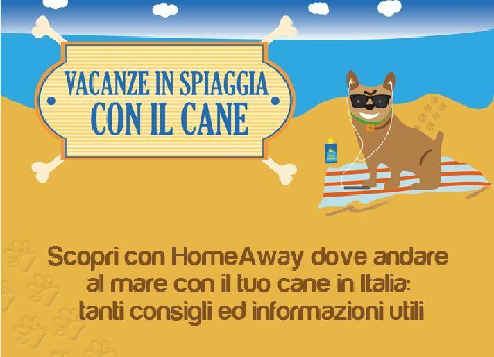 Tutte le spiagge in Italia regione per regione dove i cani sono i benvenuti! Infografica