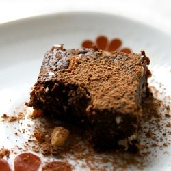 The incredible Raw Brownie. So rich, dark, and satisfying, you won't believe it's vegan, gluten-fee, and raw!!!
