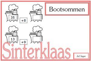 Bootsommen - Juf Inger