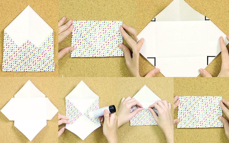 En este tutorial te enseñamos paso a paso cómo hacer sobres de papel para invitaciones, bodas, baby shower, cartas, etc. Están muy fáciles, te van a servir.