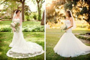 Diez poses para la novia en las fotos de la boda