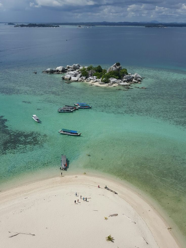 From the top of lighthouse Pulau Lengkuas, Belitung