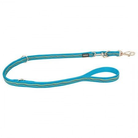 Red Dingo Dreamstream Turquoise multi-purpose dog lead 200 cm Medium - Red Dingo dog lead Red Dingo dog leads medium - globaldogshop.com