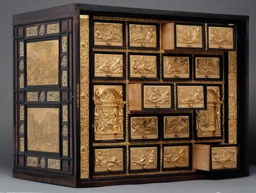 Kabinettschrank. Künstler: Wenzel Jamnitzer (Wien um 1508 – 1585 Nürnberg). N…