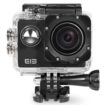 Elephone Caméra de Sport et Action Etanche WIFI Etanche 30m HD WIFI 1080P 16MP 170°Grand Angle Etanche 30m Caméscope d'action