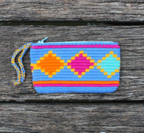 Wayuu Clutch Purse Tapestry