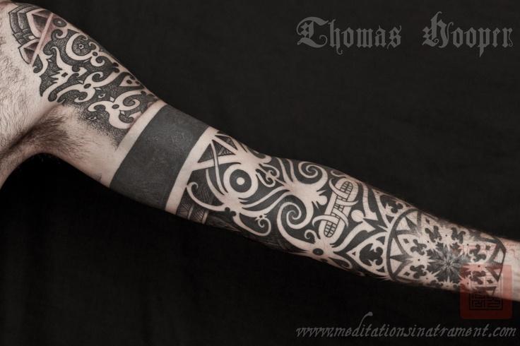 Thomas Hooper stipple tattoo