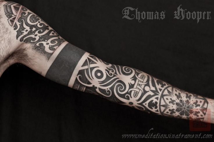 Thomas Hooper stipple tattoo