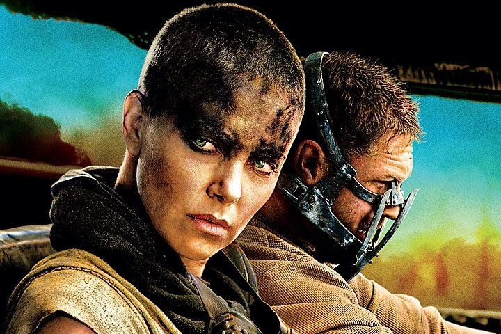 """Charlize Theron looking fierce in """"Mad Max: Fury Road"""""""