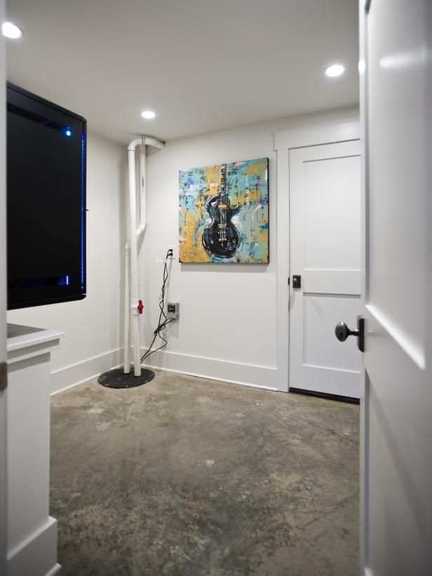 A Climate Controlled Closet Houses The AV System And Keeps Equipment From  Overheating.
