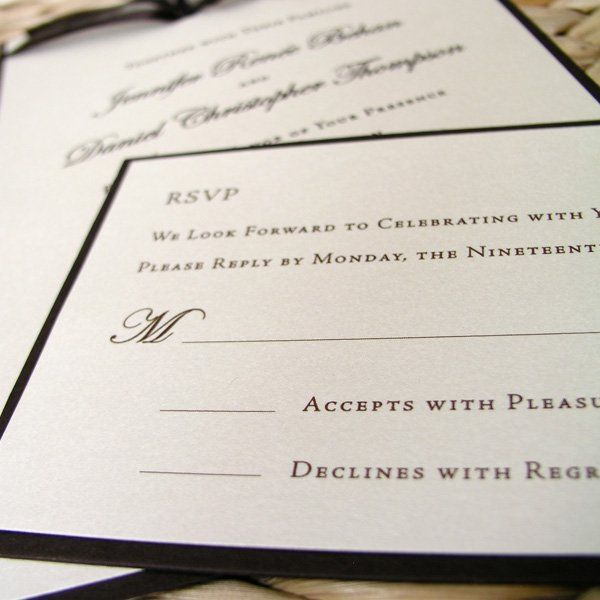Wedding Reply Card Wording