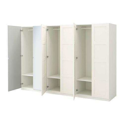 PAX Wardrobe, white, Bergsbo Vikedal Pax wardrobe, Ikea