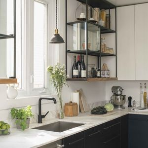 Montreal kitchen with IKEA cabinet hack #LGLimitlessdesign, #Contest