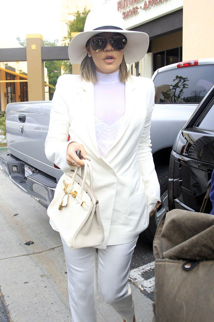 The Kardashian-Jenner Family Attends Easter Sunday Mass in Matching Outfits, of Course