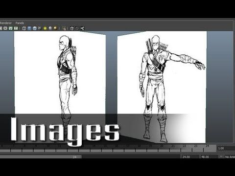 Modeling a Character in Maya - part 2 of 10