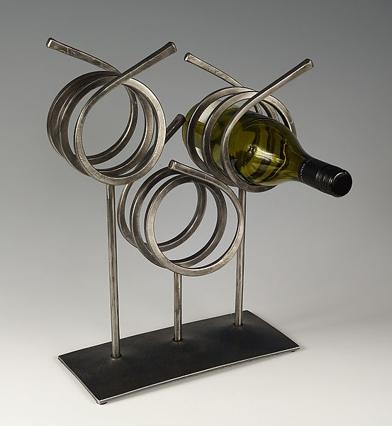 Wine Rack: Rob Caperell: Metal Wine Rack | Artful Home
