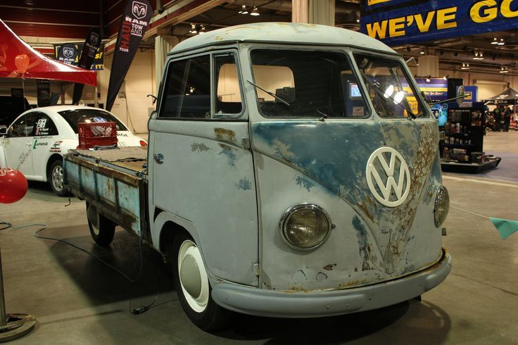Nice Volkswagen 2017: 1950's or 1960's Volkswagen Transporter pickup-flatbed World of ... Car24 - World Bayers Check more at http://car24.top/2017/2017/03/29/volkswagen-2017-195039s-or-196039s-volkswagen-transporter-pickup-flatbed-world-of-car24-world-bayers/