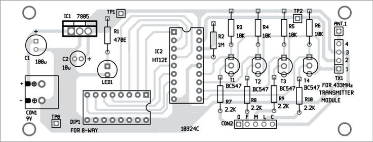 Wireless Water Level Indicator Without Microcontroller