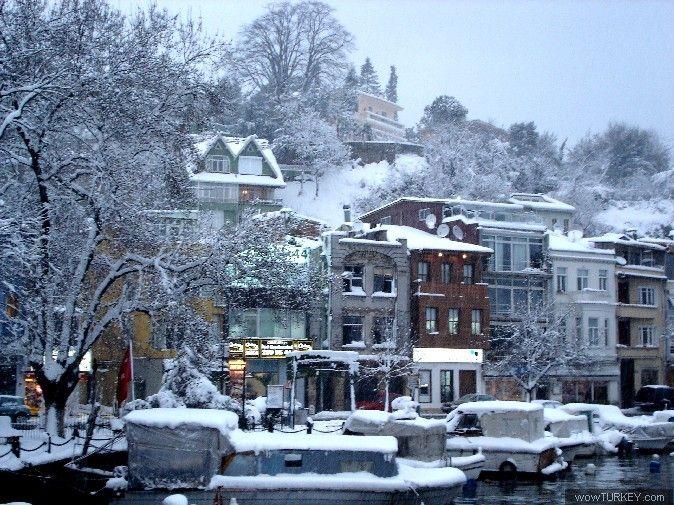snow in Istanbul, Tarabya