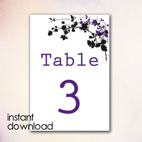 table number template word koni polycode co