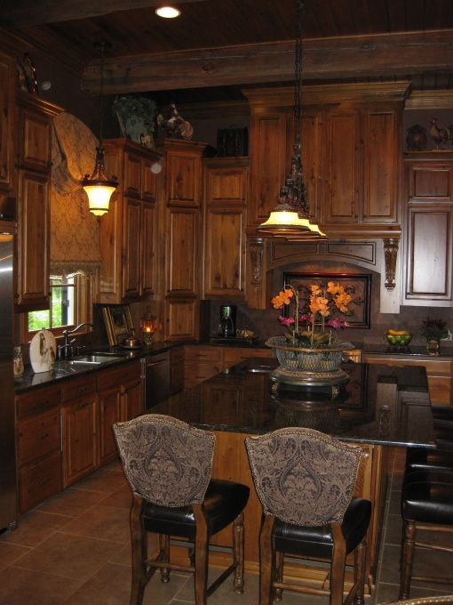 beautiful old world style kitchen want want - Old World Style Kitchens