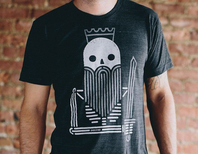 Dead King T-Shirt by Doe Eyed