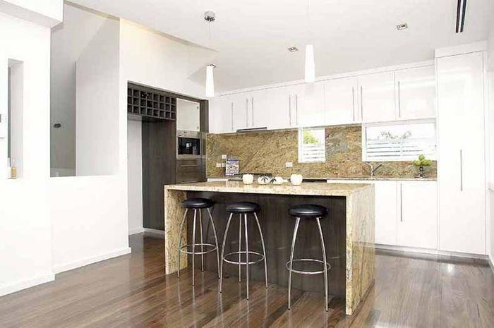 Tasmanian Oak Stained Floorboards