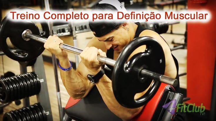 Treino para Definição Muscular