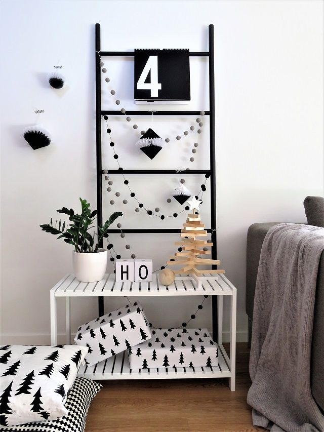 How to style your home for Christmas in Monochrome | My Little House