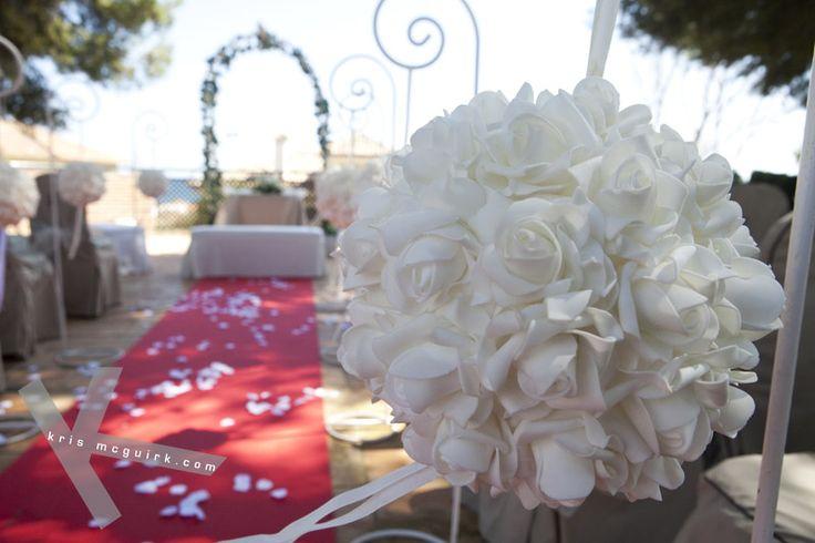 Beautiful setting for a wedding blessing at Vincci Estrella del Mar.